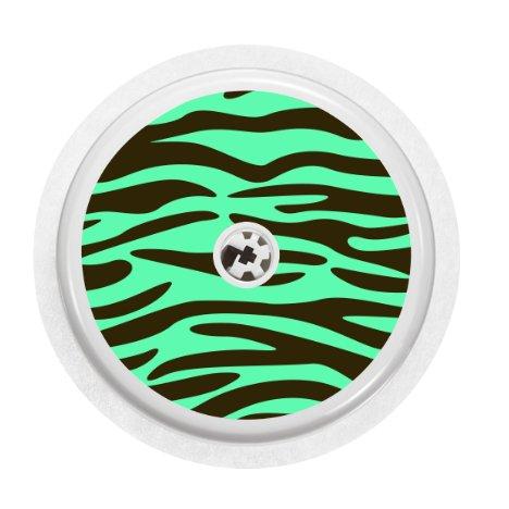 sticker pour capteur freestyle libre mint zebra. Black Bedroom Furniture Sets. Home Design Ideas