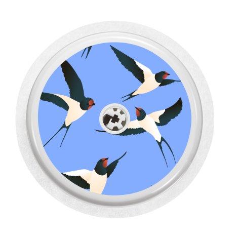 sticker pour capteur freestyle libre swallow. Black Bedroom Furniture Sets. Home Design Ideas