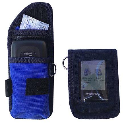 pochette de protection pour freestyle libre navy blue tonic. Black Bedroom Furniture Sets. Home Design Ideas